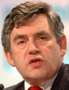 Gordon Brown - likes the Arctic Monkeys - or was it Cold Play?