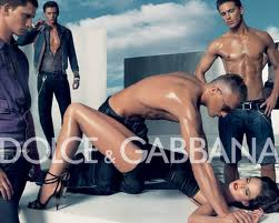 Dolce and Gabbana - a sick, amoral  pair of self obsessed posers