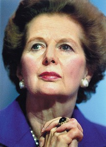 Maggie Thatcher - She pimped our nation to neo-liberalism, created the underclass and spawned a high crime society