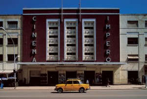 Cinema Imperio in Asmara - Modernist architecture